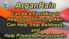 Help promote hair growth.. #arganrain #rain #argan #stop #hair #hairloss…