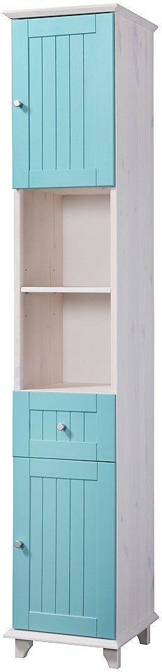 Hochglanz Badmöbel mit 3D Spiegelschrank Weiß (2-teilig) Jetzt - badezimmermöbel weiß landhaus