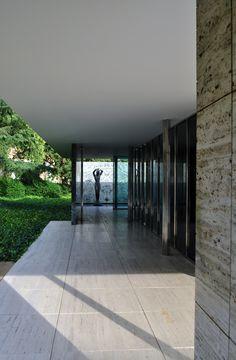Mies Barcelona Pavilion Barcelona Spain