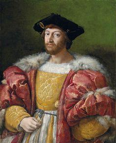 Raphaël (1483-1520), Lorenzo de'Medici, duc de Nemours, 1518.  Commandé par le pape Léon X lorss des négociations de mariage avec Madeleine de la Tour d'Auvergne  © Christie's Images Ltd. 2007