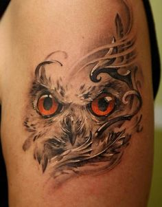 owl tattoo design ~ and I want something like this one to represent my owl spirit guide.