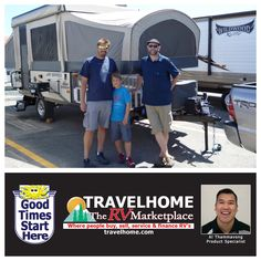 Congratulations to Terry, Conner & Lonnie on the purchase of their Baja 1001XR #TentTrailer from Al! #PopUpCamper #RVlife #FamilyFun #Travel #TravelhomeRV #Camping #Summer #Vacation