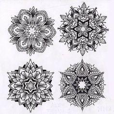Trendy ideas for tattoo mandala pontilhismo feminina Mandala Art, Geometric Mandala Tattoo, Mandala Sleeve, Mandalas Painting, Mandalas Drawing, Mandala Tattoo Design, Flower Mandala, Tattoo Designs, Tattoo Ideas