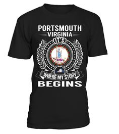 Portsmouth, Virginia - My Story Begins