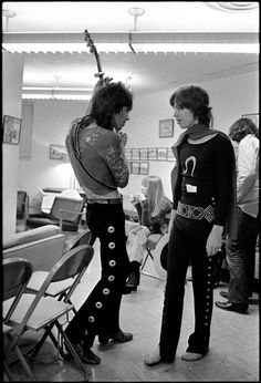 The Glimmer Twins Keith & Mick, '69