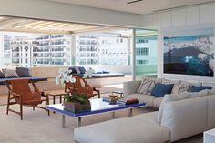 Apartamento Dois Irmãos / Bernardes Arquitetura #living #patio #terrace