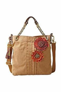 Fossil Handbag, Wonder if I can still find this one! Fossil Handbags, Fossil Bags, Satchel Handbags, Handbags Michael Kors, Purses And Handbags, Leather Handbags, Cute Purses, Cute Bags, Vintage Handbags