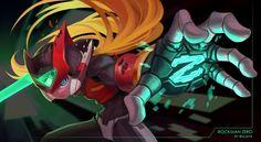 Perspective Artists, Mega Man Legacy, Maverick Hunter, Zero Wallpaper, Super Smash Ultimate, Megaman Zero, Megaman Series, Fighting Robots, Pixel Animation