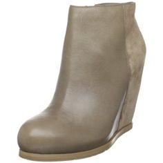 I have these bootie wedges in black too and I love them!