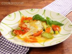 Filetto di rombo con verdurine | Cookaround