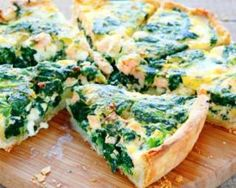 The ultimate spinach and salmon quiche Ultimate Spinach, Tortas Low Carb, Salmon Quiche, Brain Boosting Foods, Low Carb Recipes, Healthy Recipes, Spinach Quiche, Spinach Tart, Ham Quiche