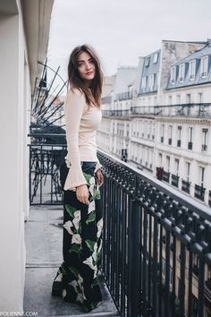 The Parisian balcony