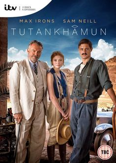 Sam Neill, Max Irons, and Amy Wren in Tutankhamun Max Irons, Amy Wren, Tv Series To Watch, Movies To Watch, Good Movies, Watch Netflix, Period Movies, Period Dramas, Love Movie