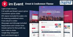 im Event v2.9.9 – Event & Conference WordPress Theme