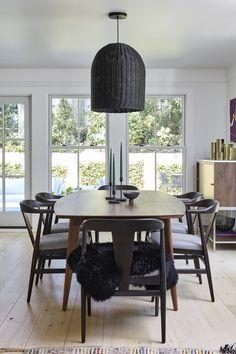 mid-century dining room design
