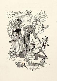 Joyce Mercer. Fairy-tales. (With sun and mermaid.)