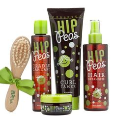 Hip Peas hair products for kids (I went to school with Stephanie the sweet girl who created this product- buy it, tell your friends, you will love it cause its from the heart of a West Texas gal)