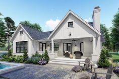 Plan 16909wg Economical Modern Farmhouse Plan With Two Bonus Rooms Modern Farmhouse Plans Farmhouse Style House Small Farmhouse Plans