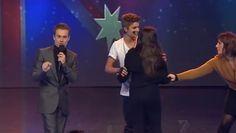 Justin Bieber Fan Dragged off Australia's Got Talent' stage