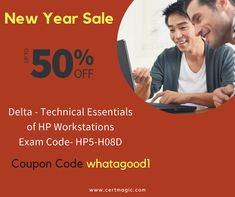 """Want to become certified professional? Get certified with Delta - Technical Essentials of HP Workstations Exam HP5-H08D. Take latest preparation and practice material from here: https://www.certmagic.com//HP5-H08D-certification-practice-exams.html and use Coupon Code """"whatagood1"""" & Avail 50% #OFF. #IT #Trainingmaterial #learningmaterial #HP #dumps #testmaterial #NewYearSale #Newyeardiscount #50% #discount"""