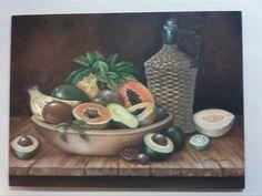 mi bodegón de frutas tropicales, by orietta polifroni