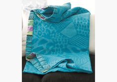 home accessories   home decor accessories   decorative home accessories   bernadini turquoise throw   Designers Guild Throws   Throws   Living Room