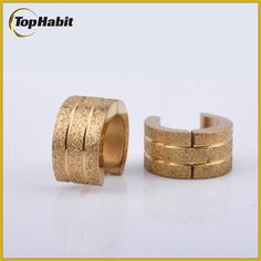 Features of Womens Shining Hooped Gold Earrings: Tophabit® Womens Shining Hooped Gold Earrings  is forever stylish and classic unisex earrings,with its high quality at the lowest price.These simple yet beautiful huggie earrings are so comfortable that you won't even feel like you are wearing earrings.It is a perfect choice for both men and women who love