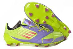 Soccer Shoes for cheap! Adidas Cleats, Soccer Cleats, Cheap Soccer Shoes, Football Boots, Green And Purple, Fashion Bags, Sports, Board, Health