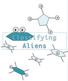 Middle School students learn how living things are classified when they invent a classification system for these aliens. Classroom tested, easy and effective, and it's different every time you use it because students make different decisions. One of the best activities of my decades teaching 7th grade science.