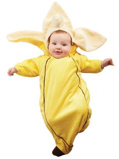 Banana Bunting Infant Costume from CostumeExpress.com