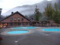 Sol Duc Hot Springs Resort, Olympic Peninsula in northwest Washington