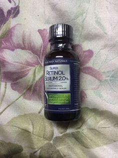 PURE BODY NATURALS Retinol Serum Best Anti Aging Serum Heal Skin Min. Wrinkles