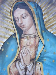 Our Lady of Guadalupe, detail John The Baptist, Blessed Virgin Mary, Sacred Art, Our Lady, Mystery, Princess Zelda, Icons, Studio, Detail