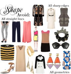 """Romantic Shape (Avoid)"" by thewildpapillon on Polyvore"