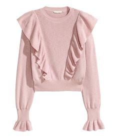 Ruffled Sweater | H&M Pastels