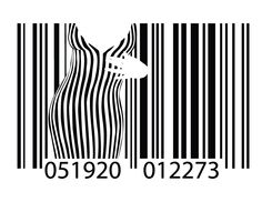 Barcoded Woman