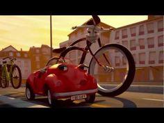 Cruiser und Bella - Der Film - Velo und Auto im Kreisel - Ab durch die Mitte - Suva - Suvaliv - YouTube