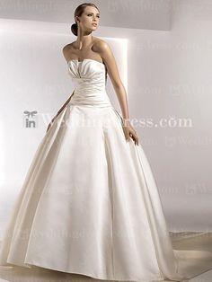 inweddingdress.com  I wish I got to wear a big poofy dress