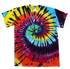 1ad795d8d Colortone Tie Dye T-Shirt LG Lava Lamp: Colortone tie dye apparel is all  hand dyed for a superior look and feel. No two garments are exactly alike.