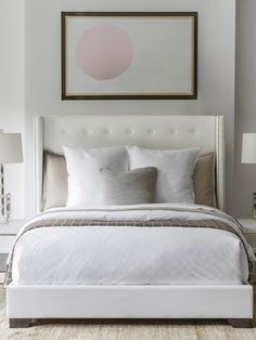 Loving SFERRA's new piece dyed duvet cover and shams. Available in White and Ivory.