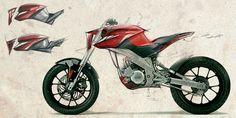 DERBI Urban Jungle MotorCycle Concept