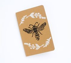 Honey Bee, Moleskin Pocket Notebook
