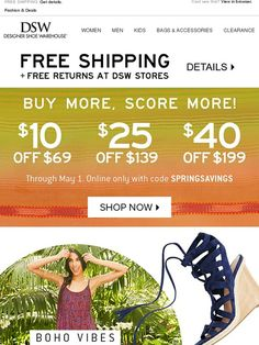 adc55d01ecf3 Take  10 off + shop Indigo Rd. boho styles. - DSW