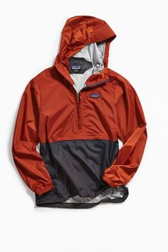Patagonia Torrentshell Anorak Jacket Windbreaker Outfit, Pullover Windbreaker, Hoodie Outfit, Anorak Jacket, Sweater Jacket, Rain Jacket, Men's Coats And Jackets, Japanese Outfits, Sweatshirts
