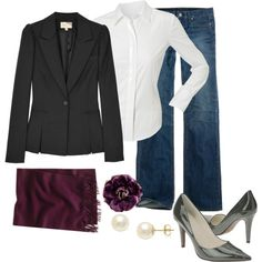 Grey and Plum, Perfect for a friday at the office