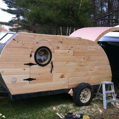 My teardrop camper.