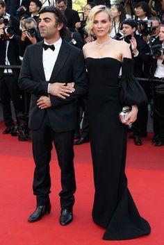 Фатих Акин и Диана Крюгер в Jonathan Simkhai и украшениях Chopard Канны 2017: Церемония закрытия