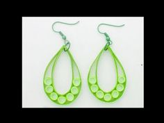 Art & Craft: How to Make Paper Quilling Jhumka / Earring ...