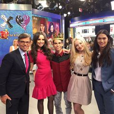"""Descendants"" Cast At ""Good Morning America"" July 27, 2015 - Dis411"