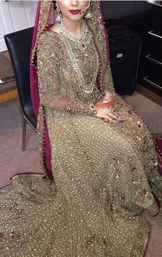 Pakistani bride, not Indian bride, Bridal Jewellery, Dulhan, Shaadi, Wedding dress, Bridal Lengha, Wedding Outfit, Wedding Mehndi